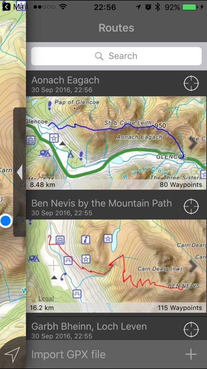 Ben Nevis & Glen Coe Maps screenshot-1