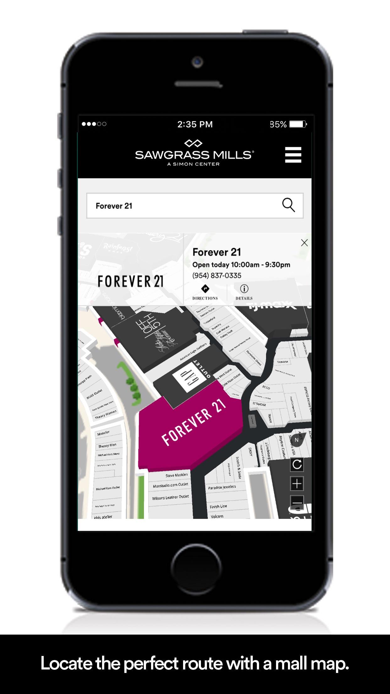 SIMON: Malls, Mills & Outlets Screenshot