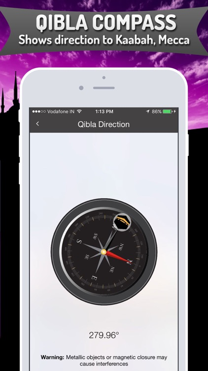 Islamic Calendar + Azan, Qibla screenshot-3