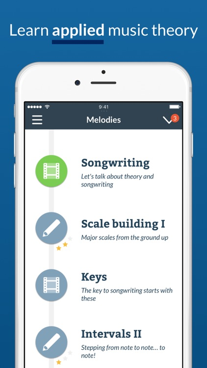 Waay: Music theory for songwriting