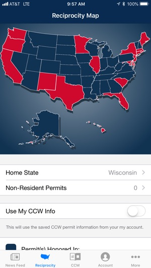 USCCA Concealed Carry App on the App Store