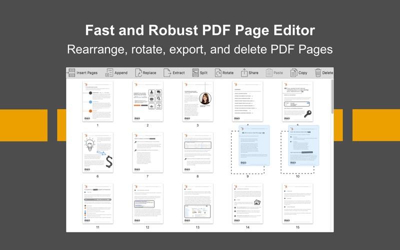 PDF Page Editor Pro Edition Screenshot