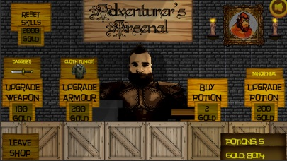 TapRPG Homeland screenshot #4