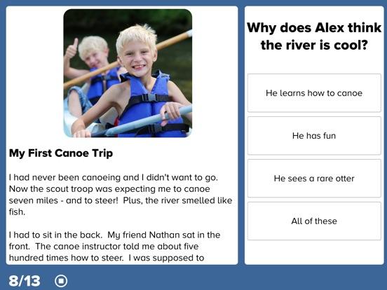 4th Grade Reading Prep Screenshots