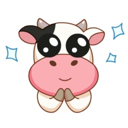 Kitty the Cow Animated