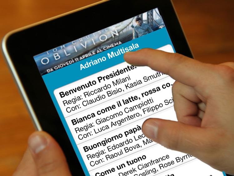 TrovaCinema per iPad