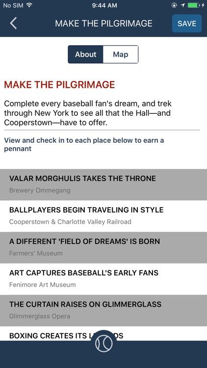 Baseball Hall of Fame Beacon screenshot-3