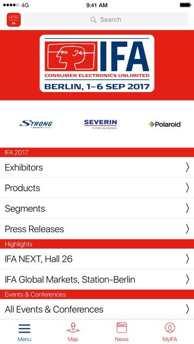 IFA Berlin 2017 Screenshot
