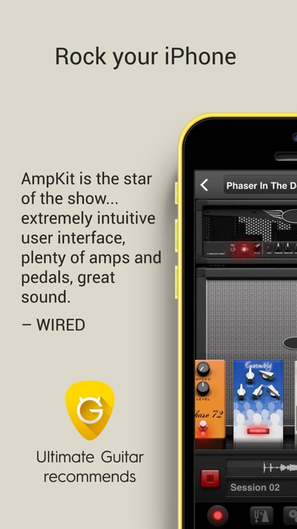 AmpKit - Guitar amps & pedals screenshot-0