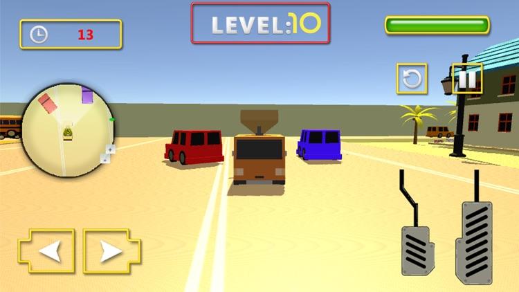 Pizza Delivery Car Sim screenshot-4
