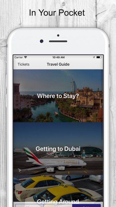 Dubai Tickets & Travel Guide | App Price Drops