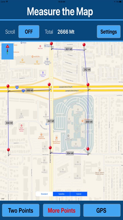 Measure Distance & Area on Map screenshot-4