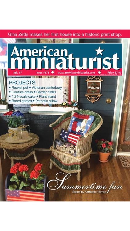 American Miniaturist: The miniaturists' magazine where little things matter screenshot-4
