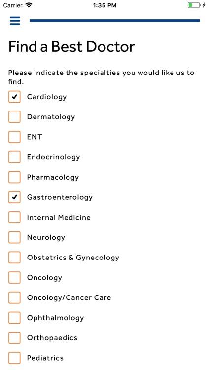Best Doctors Member App