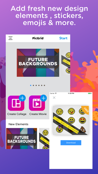 Pic Grid - Collage Photo Maker | App Price Drops