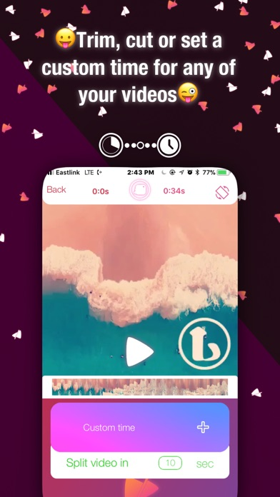 Video Splits for insta & snap Screenshots