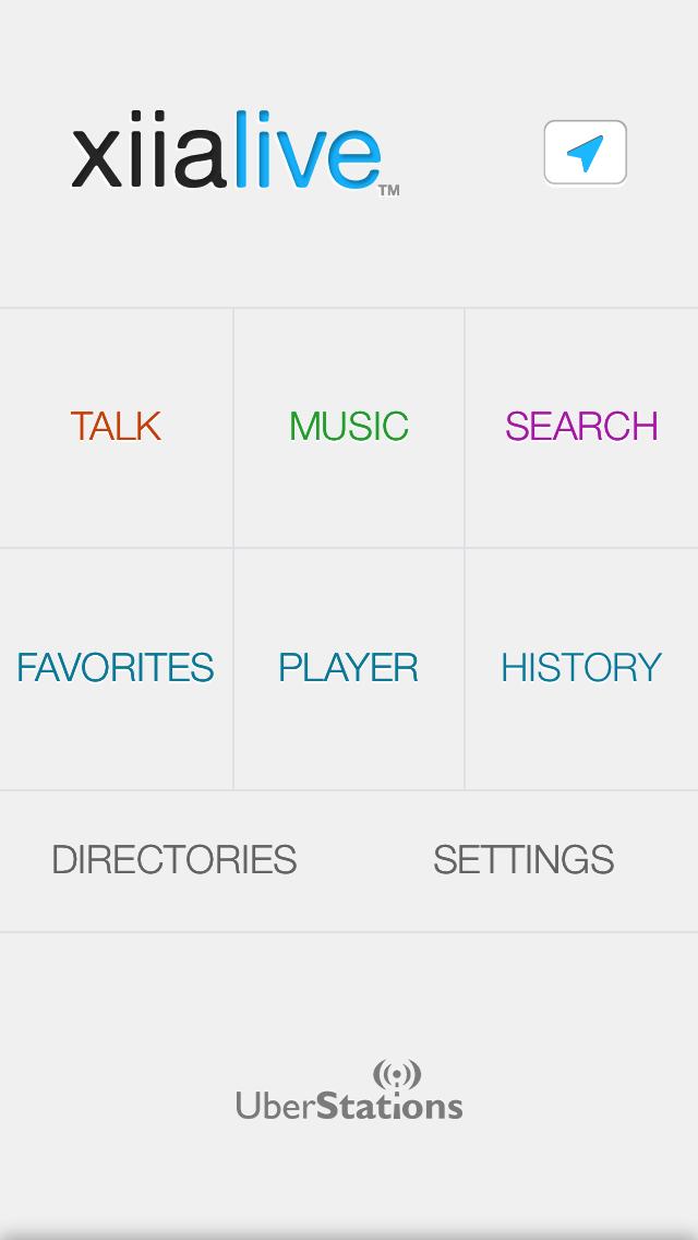 XiiaLive – Internet Radio Screenshot