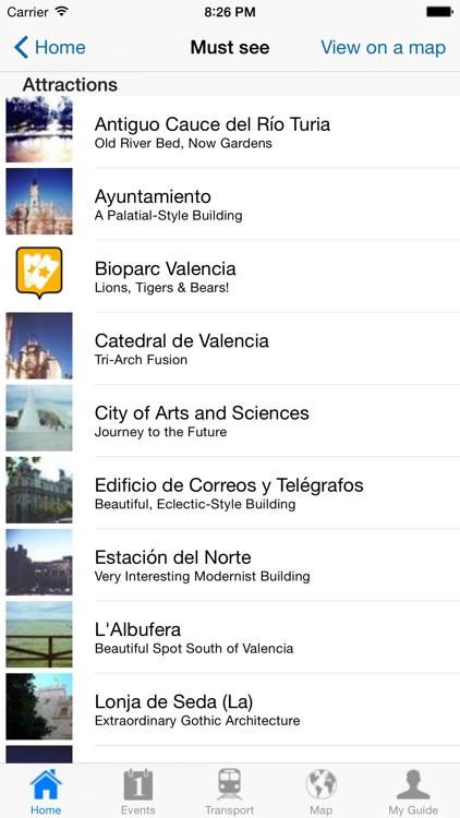 Valencia Travel Guide Offline screenshot-3