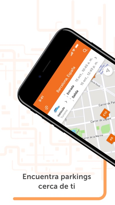 Screenshot for Parclick - Encontrar Parkings in Spain App Store