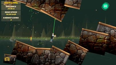 Rope Heroes : Hole Runner Game screenshot 2