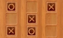 Tic Tac Toe - Wood