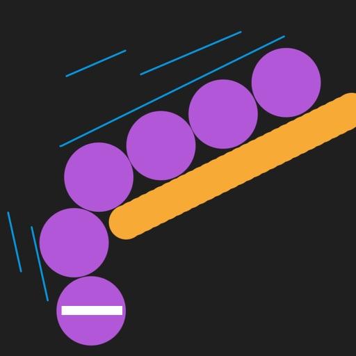 Ball Snake Falling