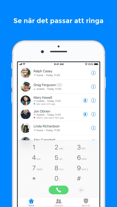 Screenshot for Truecaller in Sweden App Store
