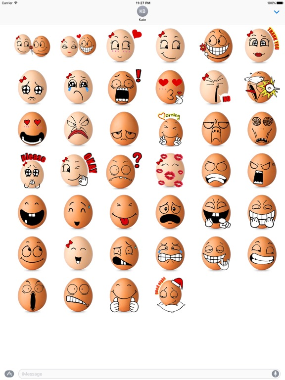 Love Of Eggs Eggmoji Sticker screenshot 4