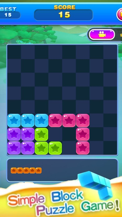 Block Star Puzzle screenshot three