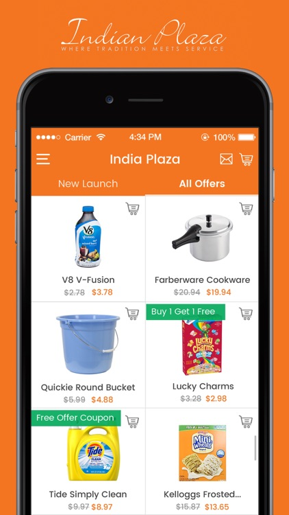 INDIAN PLAZA_SHOPPING LIST