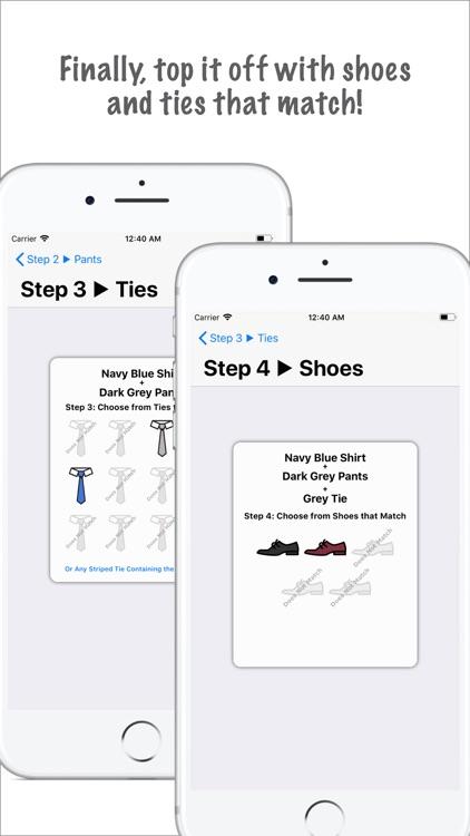 Clothes Matcher Pro screenshot-4