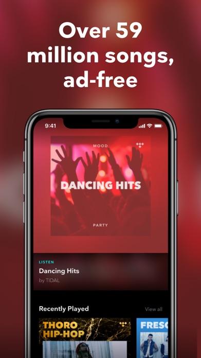 TIDAL Music - Streaming Screenshot