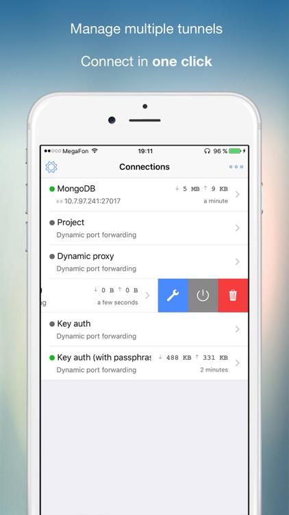 SSH Tunnel - with socks5 proxy / iOS — AppAgg