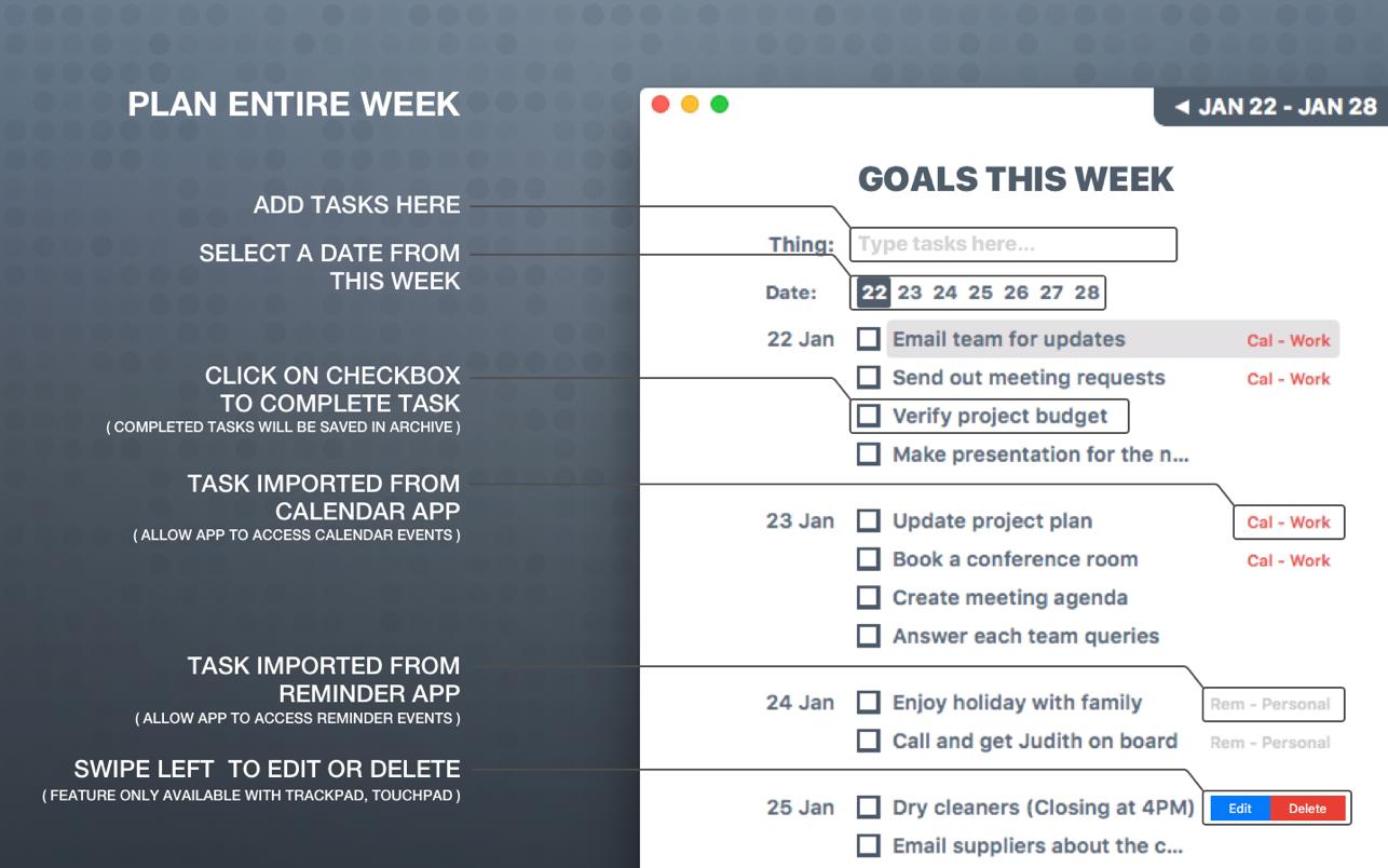 Week Track