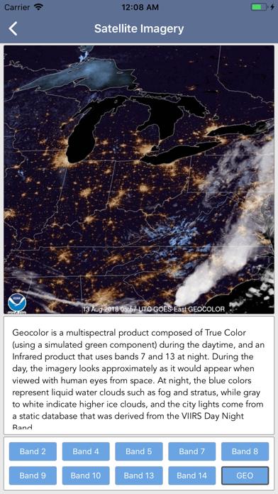 Lightning Tracker & Storm Data Screenshot