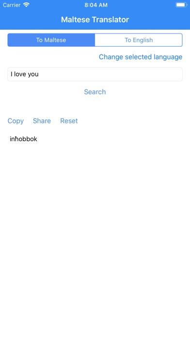 Screenshot for Maltese Translator in United States App Store