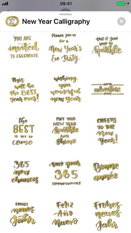 New Year Calligraphy screenshot-7