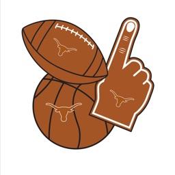 Texas Longhorns Hook Em Photo Booth Stickers