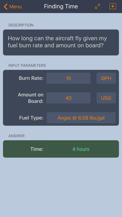 E6B Aviation Calculator screenshot two