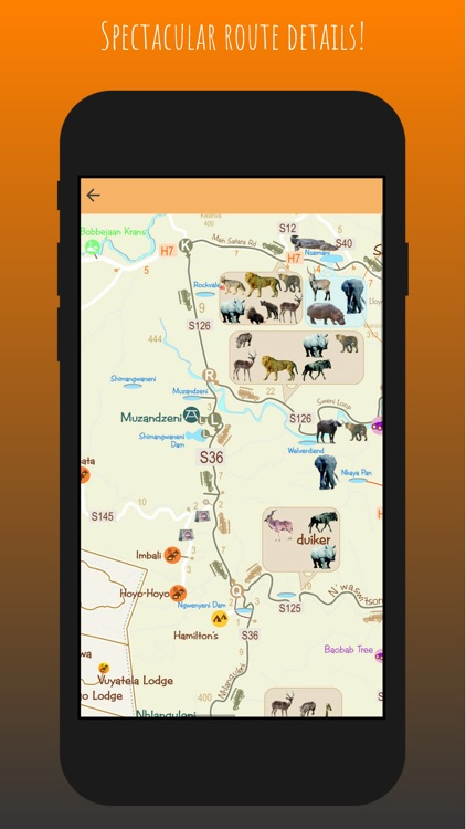 Kruger Map App screenshot-7