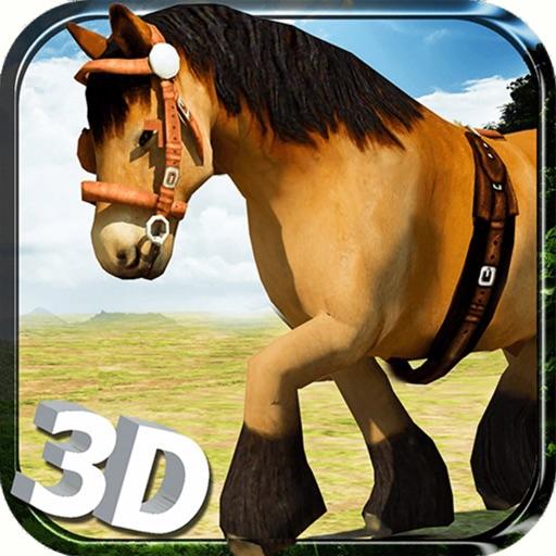 Симулятор дикой лошади