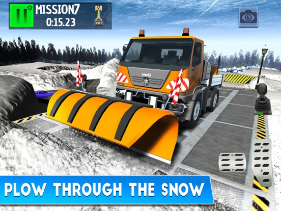 Winter Ski Park: Snow Driver на iPad