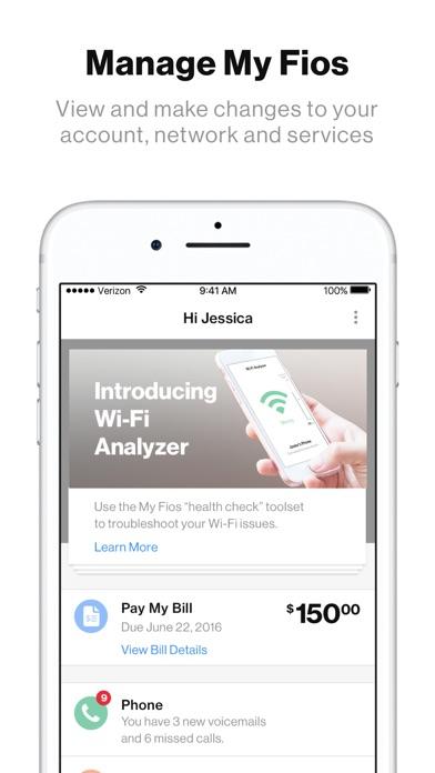 Verizon My Fios review screenshots