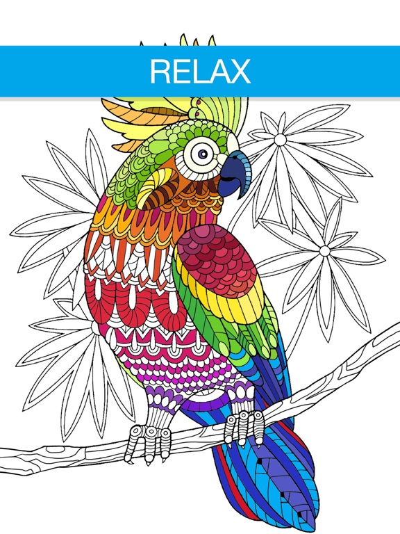 Screenshot 2 For Adult Coloring Book
