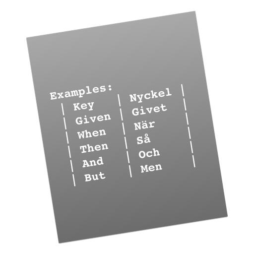 Gherkin Formatter Extension