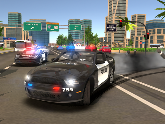 Police Drift Car Driving на iPad