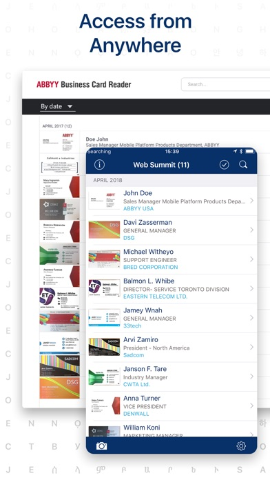 business card scanner pro app price drops screenshot 5 for business card scanner pro reheart Images