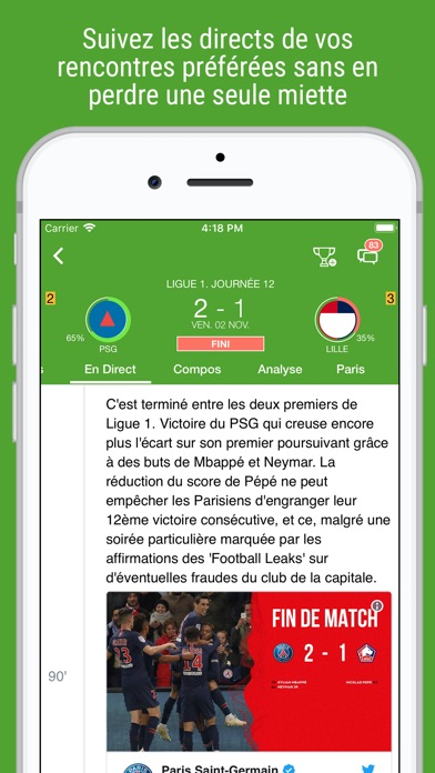 download BeSoccer Pro apps 7