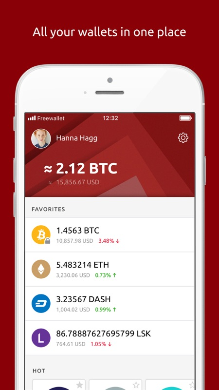 multi wallet cryptocurrency ios
