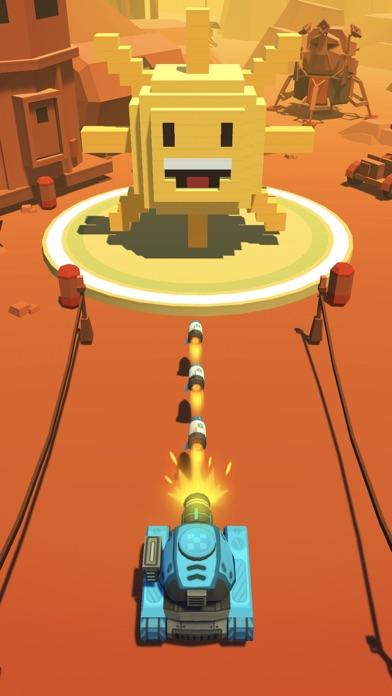 Fire Ball: Shoot Voxel Blast! screenshot four